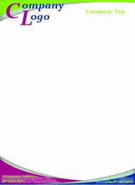 Best Of 35 Sample Word Letterhead Template Logo