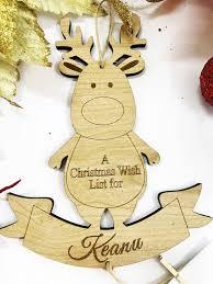 Christmas Wish List Reindeer Kikki And Franki