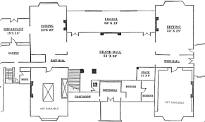 house floor plan. Waveny House Floor Plan
