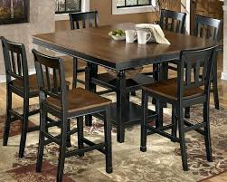 black counter height dining table black counter height table and chairs black brown counter height dining