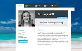 Personal Resume Website Example Examples Of Resumes