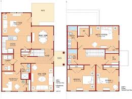 Modern Four Bedroom House Plans 4 Bedroom Floor Plans With Dimensions