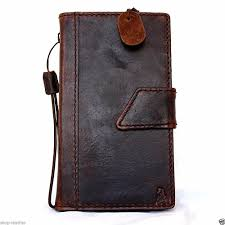 genuine italian leather style case for samsung galaxy note 4 book wallet business handmade magnet cover