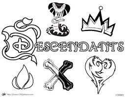 Disney Descendants Coloring Pages Color Bros
