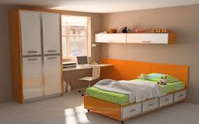 Orange Bedroom Furniture Choosing The Kids Bedroom Furniture Amaza Design