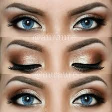 looking for inspiration for prom makeup here are 12 pretty and easy tutorials for ideas for prom makeup for blue eyes can be worn for any occasion
