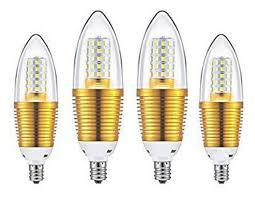 E14 Led Light Bulb Ctkcom 12w E14 Led Bulbs Candelabra Led Light Bulbs 4 Pack Daylight White 6000k Led Chandelier Bulbs 85 100w Light Bulb Equivalent E14 Candle Light
