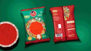 Turmeric Powder Packaging Design Mj Foods Package Design On Behance