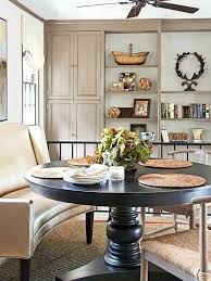 fabulous curved settee for round dining table curved settee for round dining table pictures also beautiful