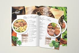 Spices Brochure Design Beautiful Brochure Design For A Frozen Food Company By Dot N