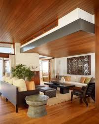 Wood Ceiling Designs Living Room Apartments Awesome Living Room Design With White Leather Sofa