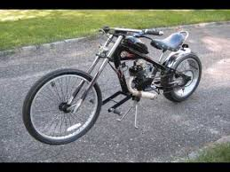 motorized chopper bike youtube