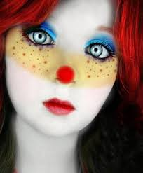 simple and pretty clown costume ideas face makeup and costumes