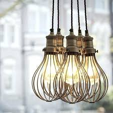 cage pendant lighting. Caged Pendant Lights Cage Lamp Uk Lighting A