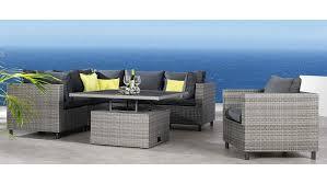 Best Loungeset Bonaire 3 Eck 2 Mittelteile Höhenverstellbarer