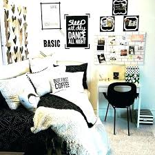 Black And White Bedroom Ideas For Teenagers Gold White And Black ...