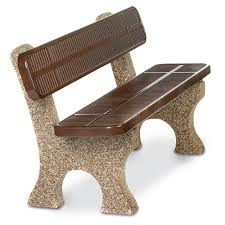 Commercial Outdoor Benches With Backs Outside Benches With Backs Stone Benches With Backs