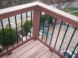 handrails for decks contemporary posite deck rails with metal balusters in st hand rails decks r65