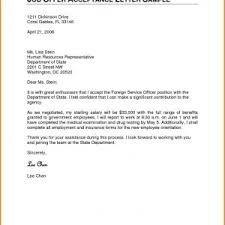 Simple Job Offer Acceptance Letter Sample Pdf Archives Fannygarcia