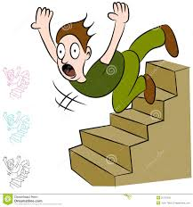 down stairs clipart. Unique Down Man Falling Down Flight Of Stairs Intended Clipart L