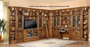 library office furniture. wonderful office furniture bookcase parker house barcelona library corner wall unit home u