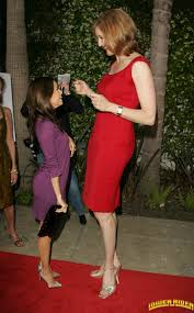 Brenda Strong and Eva Longoria by lowerrider.deviantart on.