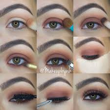 Kat Hon B Shade Light Eye Step By Step Using Kat Von D Shade Light Eye Palette For