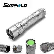 3 Màu LED Chất Lượng Cao Đèn Pin Siêu Sáng Nhôm Kính Thiên Văn Tập Trung Đèn  Pin Đèn LED 3 Chế Độ Đèn LED Chống Nước Sử Dụng 18650|Đèn Pin LED