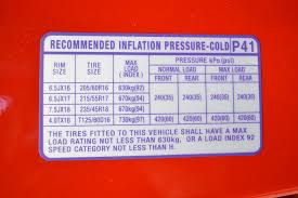 Tire Air Pressure Chart By Size Kia Soul Tyre Pressure Carsguide