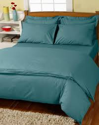 teal duvet cover set