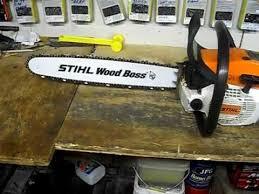 stihl wood boss logo. new update on my stihl 024 stihl wood boss logo