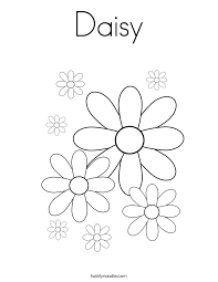 Small Picture Daisy Coloring Page Twisty Noodle