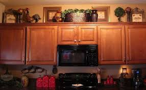 Decorating Above Cabinets....some Ideas...maybe A Wine Theme