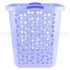 Pink Plastic Laundry Basket Classy Laundry Basket Bin Plastic Baskets Washing Hamper Bag White Blue Pink