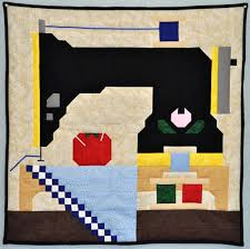 Stitch Up a Sewing Machine Quilt for your Wall or Lap - Quilting ... & Sewing Machine Quilt Adamdwight.com
