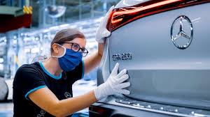 +49 711 17 0 fax: Mercedes Benz Eqa 2021 Production German Electric Car Factory Youtube