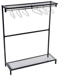 Metal Coat Rack With Shelf Free Standing Clothes Rack UT MetalCoat RacksChina Retail Equipment 50