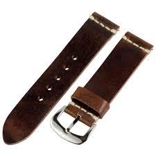 brown worn leather bands dapper