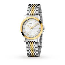 gucci watches for women. gucci ya126511 timeless bi-colour ladies watch watches for women u