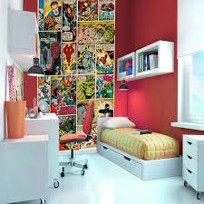 Marvel Bedroom Accessories Marvel Comic Heroes Photo Wall Mural 368 X 254 Cm Photo Walls