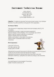 resume samples instrument technician sample resume samples resume samples instrument technician sample