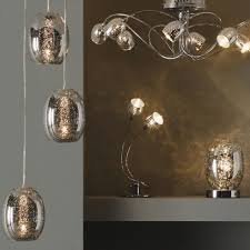 guerrein chrome effect 36 lamp pendant ceiling light