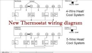 hvac thermostat wiring diagram hvac wiring diagrams