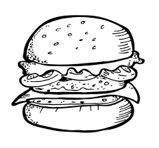 google search gourmet burger and fries drawing burger and fries drawing delux