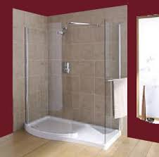 Interesting Curved Shower Enclosures Uk Mira Beam Corner Walkin Intended Inspiration Decorating