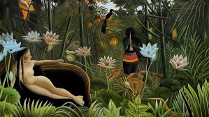 in the overview of post impressionist european painting henri rousseau is considered as the father of naïf painting for the ingenuity of his style