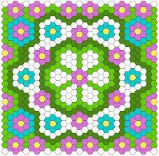 Best 25+ Hexagon quilt pattern ideas on Pinterest | Hexagon quilt ... & You're going to love Hexagon Quilt Layout by Adamdwight.com