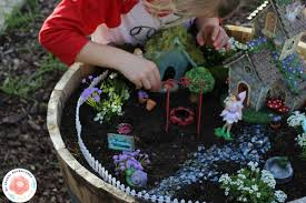how to build a fairy garden for kids