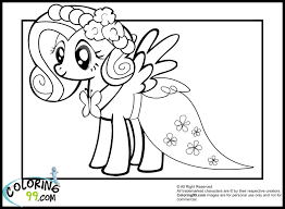 Small Picture fluttershy coloring pages