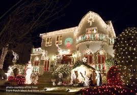christmas lighting ideas outdoor. nativity snowmen and lots of holiday lights christmas lighting ideas outdoor p